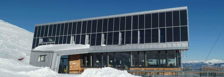 Énergie solaire thermique, maison Ludwig-Walter, Dobratsch, Carinthie