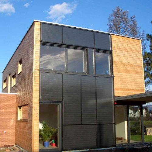 Solar façade Vorarlberg