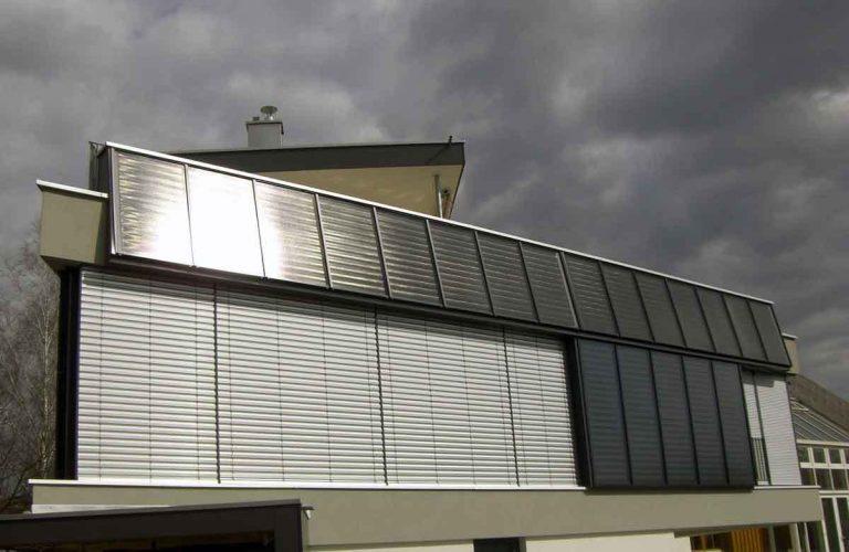 Maison solaire au Vorarlberg