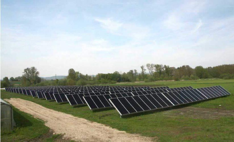 Solare Wärmeversorgung Gärtnerei, Singen