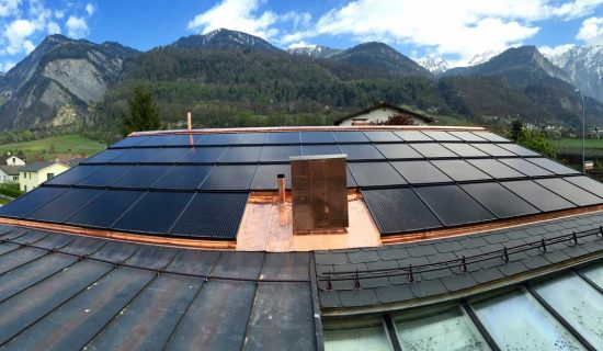 PV solar roof