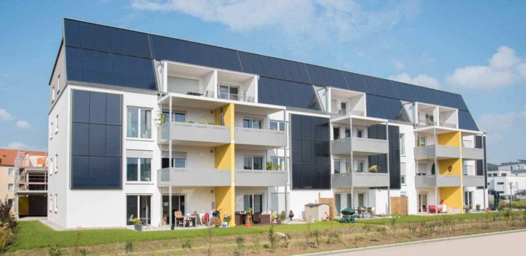 Maison solaire à Weißenburg