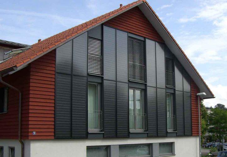 Façade solaire en Allgäu